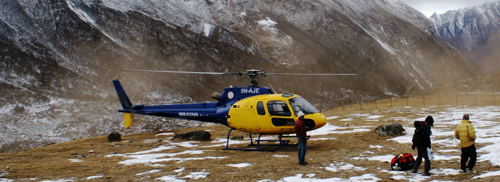 Langtang Trekking with Heli Return