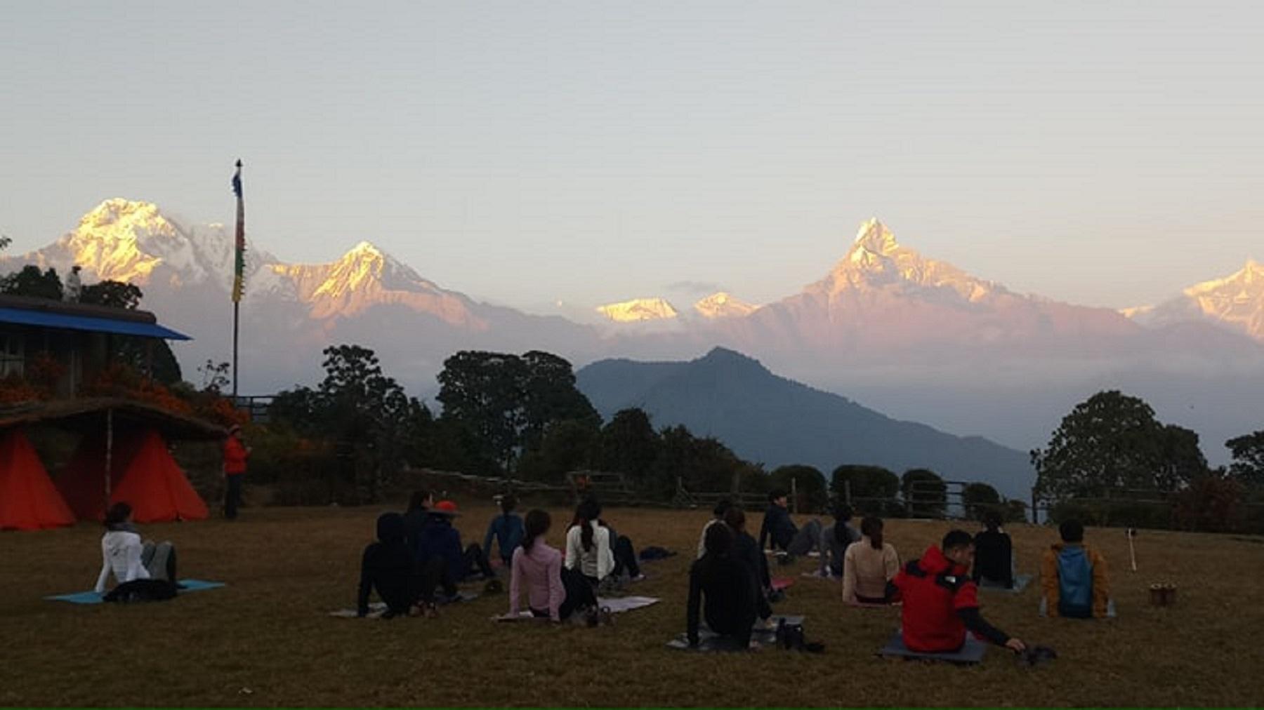 Yoga and Meditation Retreat in (Annapurna Region)